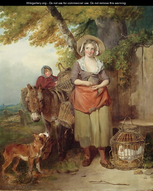 The Return from Market, 1786 - Francis Wheatley