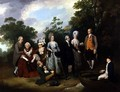The Oliver and Ward Families in a Garden, c.1788 - Francis Wheatley