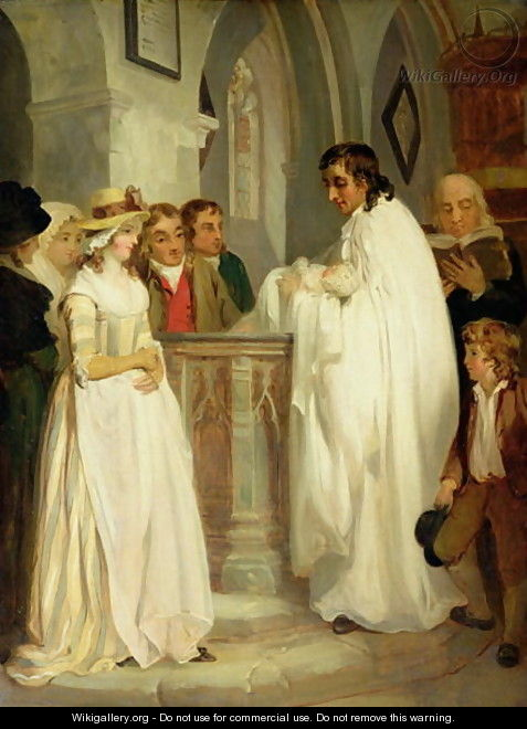 The Christening - Francis Wheatley