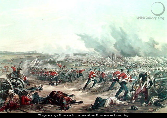The 2nd Day of the Battle of Ferozshah, 22nd December 1845 - Major G.F. White