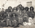 Group of nuns at the Taktsang monastery, Bhutan, 1904 - John Claude White