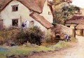 Cottage at Branscombe, Devon, 1894 - John White