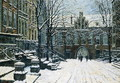 Mariacka Street, Gdansk in Winter, c.1920 - Willibald Werner