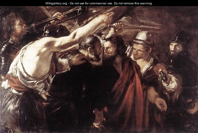 Parting of Sts Peter and Paul Led to Martyrdom 1625-26 - Giovanni Serodine