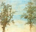 Two Trees c. 1625 - Hercules Seghers