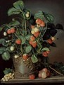 Still life with strawberries - W. Weiss