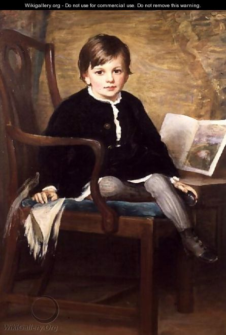 Portrait of a Boy - Henry Jr. Weigall