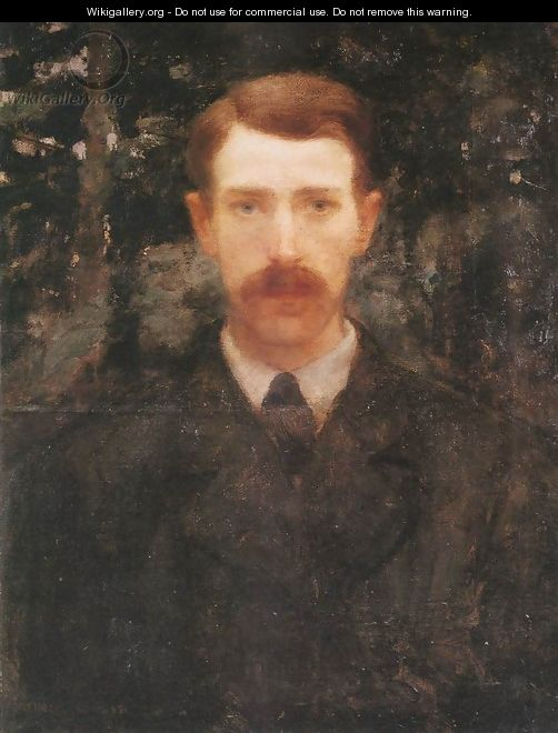 Self-portrait 1893 - Karoly Ferenczy