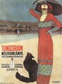 Poster for Tungsram Light Bulbs c. 1910 - Geza Farago