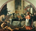 St. Charles Borromeo 1538-84 Visiting the Plague Victims in Milan in 1576 - Karel Skreta