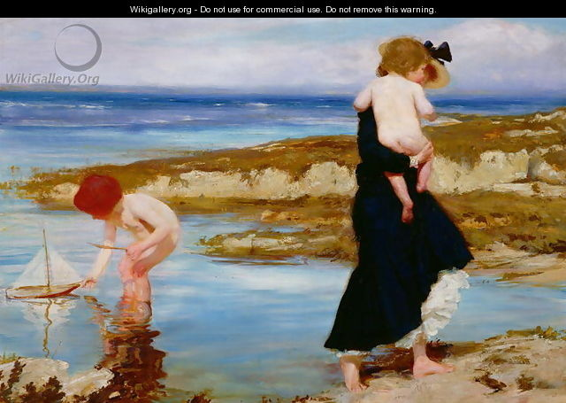 Water Babies, 1903 - Charles Sims
