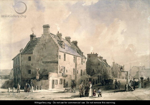 Provands Lordship, 1840sProvands Lordship, 1840s - William Simpson