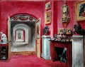The Ante Room to the Hall, Rempstone Hall, Nottinghamshire - Sarah Caroline Sitwell