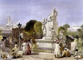 The Wellesley Monument, Bombay, 1863 - William Simpson