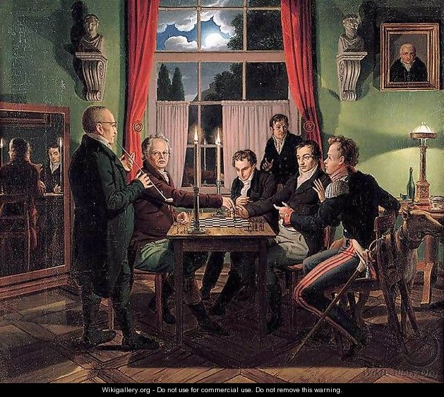 Chess Players 1818-19 - Johann Erdmann Hummel
