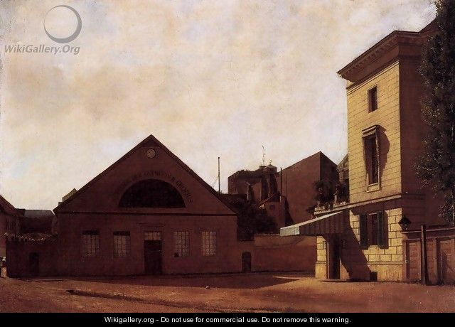 Workshop of the Gropius Brothers 1830 - Eduard Gartner