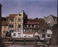 Houses at a Millrace 1820 - Ludwig Deppe