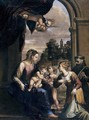 Madonna and Child with Sts Catherine and Francis 1610-12 - Francesco Brizio