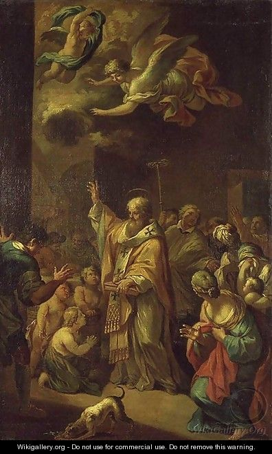 St Nicholas Resuscitates the Children - Bon Boullogne