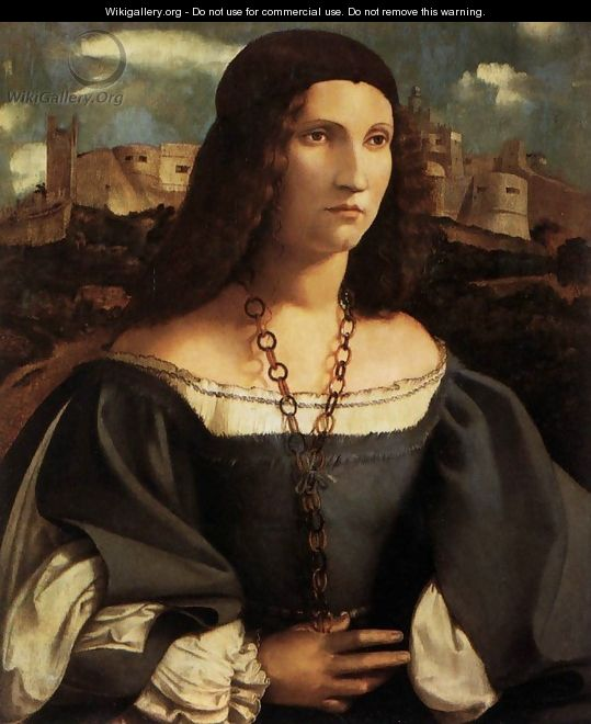 Portrait of Alda Gambara 1515-16 - Altobello Melone