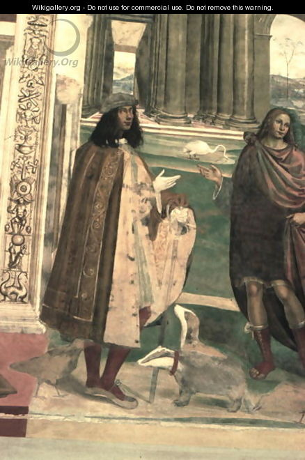 The Life of St. Benedict 5 - & Sodoma, G. (1477-1549) Signorelli, L. (c.1441-1523)