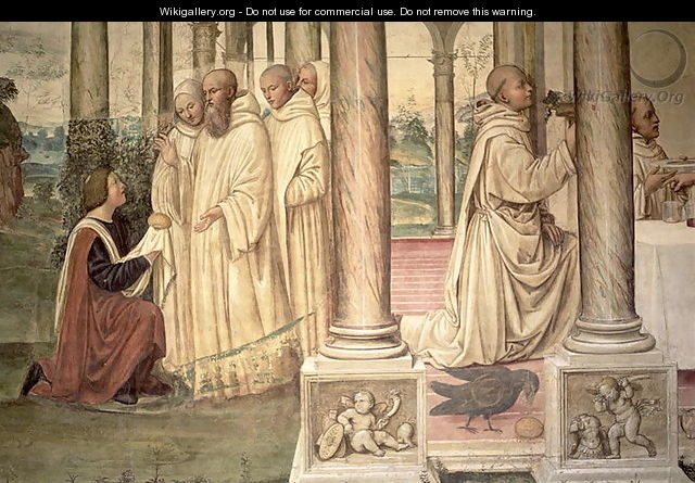 The Life of St. Benedict 4 - & Sodoma, G. (1477-1549) Signorelli, L. (c.1441-1523)