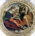 The Holy Family, c.1485 - Luca Signorelli
