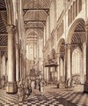 Interior of the Nieuwe Kerk, Delft 1663 - Johannes Coesermans