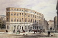 New Houses at Entrance of Gresham St, 1851 - Thomas Hosmer Shepherd