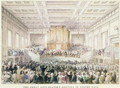 The Great Anti-Slavery Meeting of at Exeter Hall, 1841 - Thomas Hosmer Shepherd