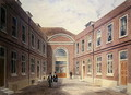 The Inner Court of Girdlers Hall Basinghall Street, 1853 - Thomas Hosmer Shepherd