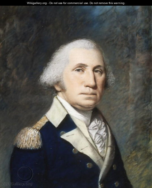 Portrait of George Washington, 1796-97 - James Sharples