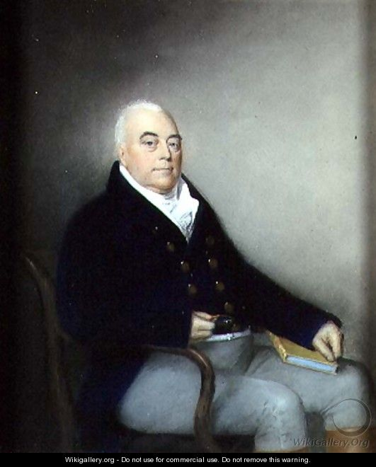 Portrait of an Elderly Seated Gentleman, c.1795 - James Sharples