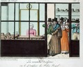 The English Revenge or, The Patisserie at the Palais Royal, c.1815 - John Sharp