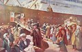 Emigrants bound for Canada aboard RMS Empress, Liverpool, 1913 - Charles Mills Sheldon