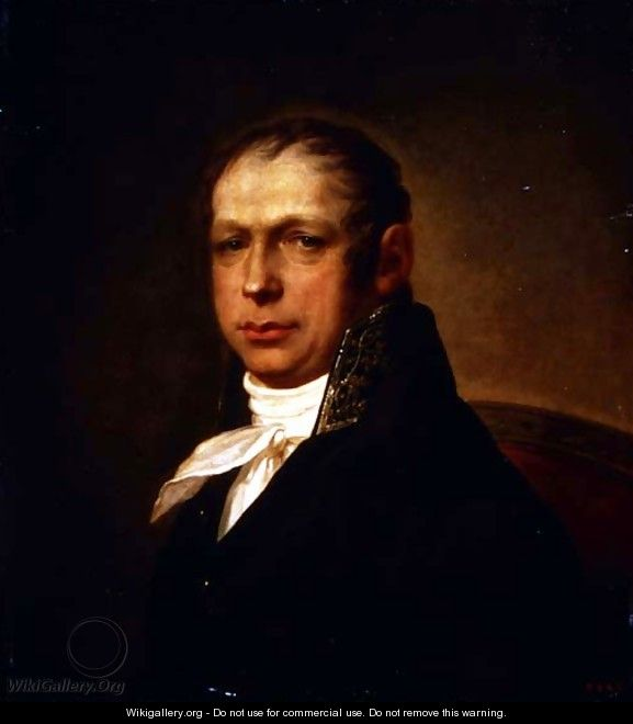 Portrait of the Architect Adrian Dmitrievich Zakharov 1761-1811 1804 - Stepan Semenovich Shchukin