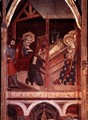The Adoration of the Shepherds, panel from the altarpiece of Sigena, 1375 - Hermanos Serra