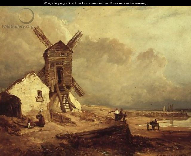 The Windmill - William Clarkson Stanfield