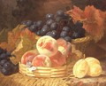 Still Life with Fruit and a Butterfly - Eloise Harriet Stannard