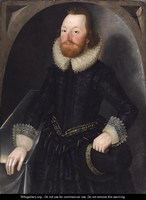 Portrait of a Member of the Towneley Family, c.1620 - John Souch