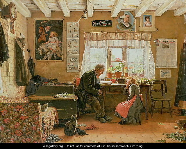 The Cottage Home, 1891 - William H. Snape