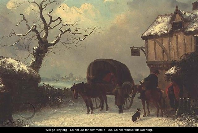 A Wayside Rest - Stopping at the Inn - Thomas Smythe