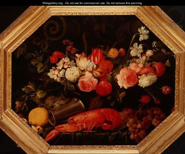 Still Life with a Lobster - Joris Van Son