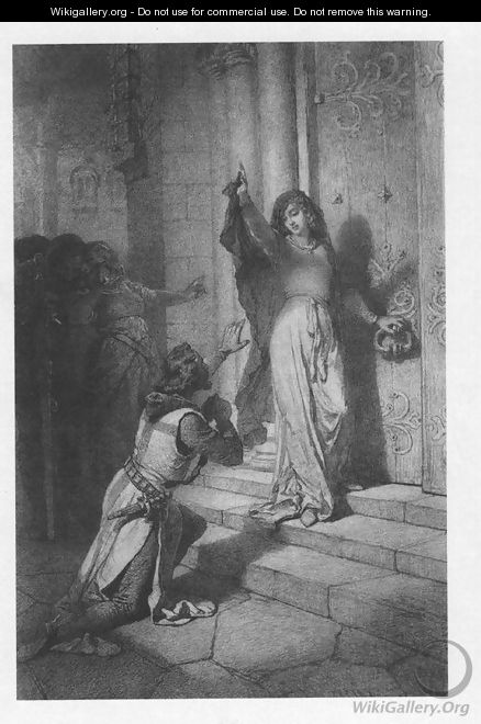 Illustration to Imre Madachs The Tragedy of Man- In Constantinople Scene 7 1887 - Mihaly von Zichy