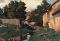 Creekside with Mackerel-sky 1894 - Tivadar Zemplenyi