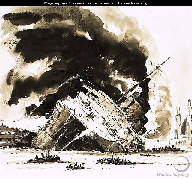 The Great Steamers The Ship That Died in Dock. The Normandie - John S. Smith