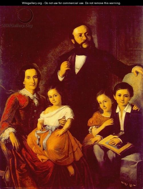 Portrait of a Family 1855 - Mor Than