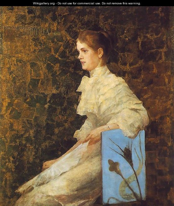 Portrait of Iren Bilcz 1892 - Janos Thorma