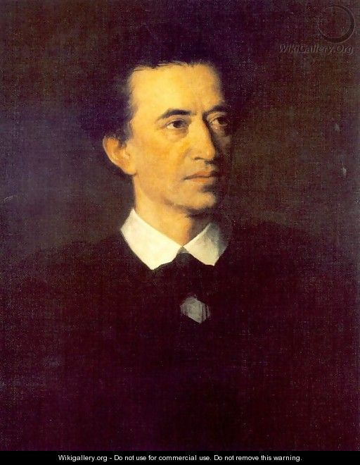 Portrait of Miklos Feleky 1871 - Mor Than
