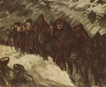 Soldiers in the Snow 1916 - Janos Vaszary